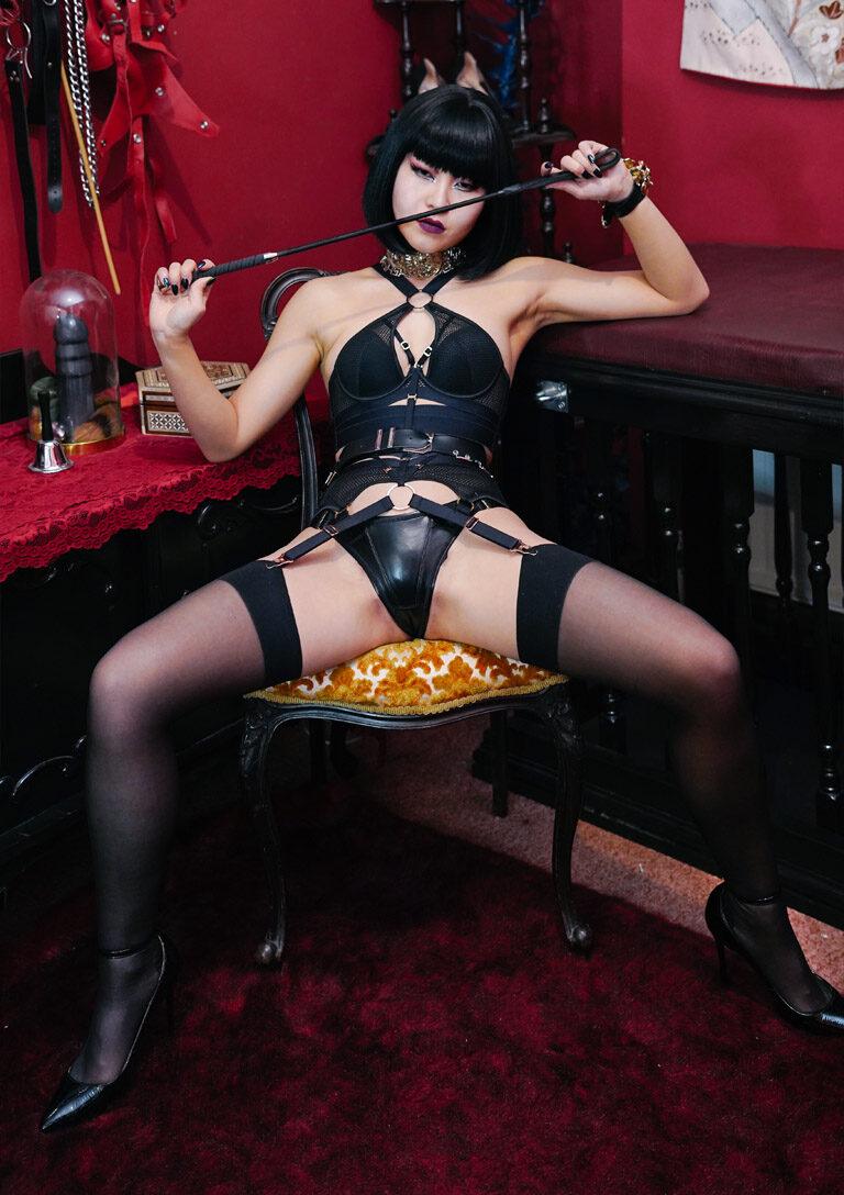 London asian dominatrix Miss Opium Tribute